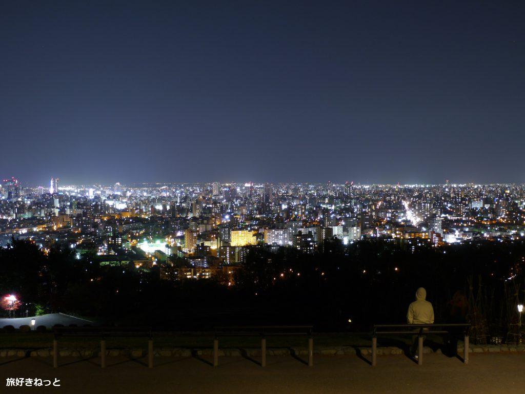 旭山記念公園の夜景はデートにめっちゃおすすめ!