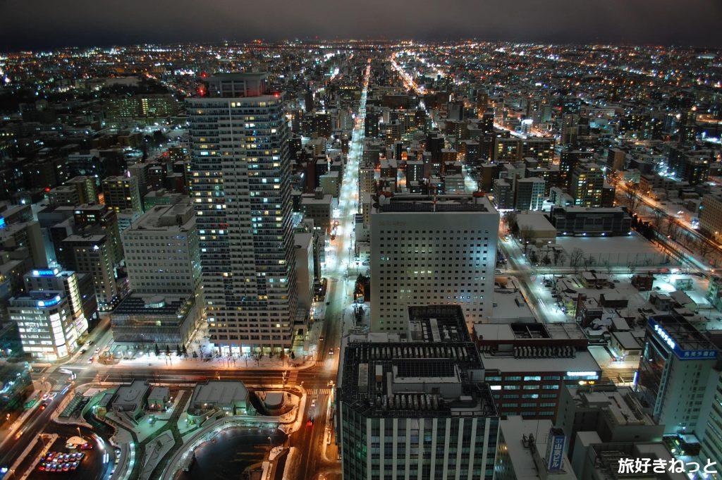 札幌の夜景を撮りにJRタワー展望室(展望台)へ行ってきた!