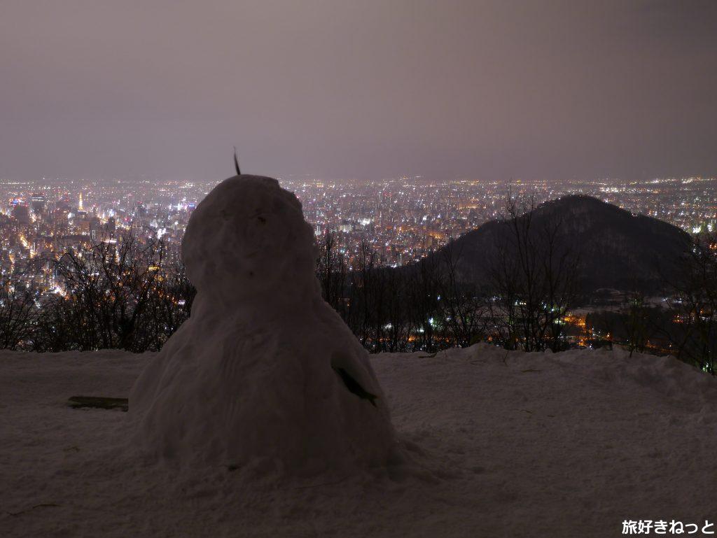 三角山「一の坂」(山の手入口)の行き方は?冬の登山もできる三角山へ行って夜景を撮影してきた!