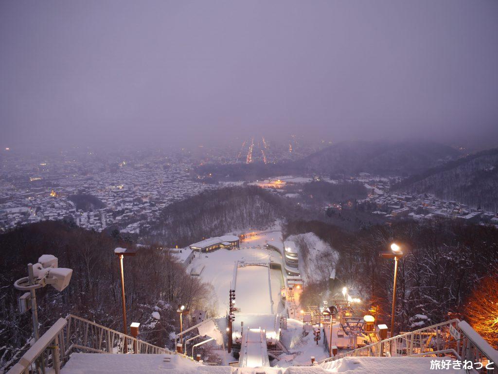 札幌大倉山展望台、夜景も景色も素敵で写真もいっぱい撮ってきた!