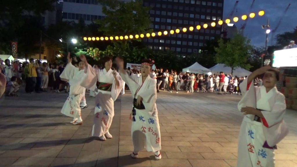 北海盆踊り2019!札幌大通公園に太鼓の音とFESの音が鳴り響く