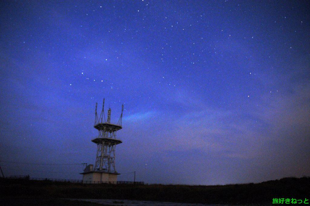 石狩の星空スポット『嶺泊展望パーキング』で星空を撮影しました。
