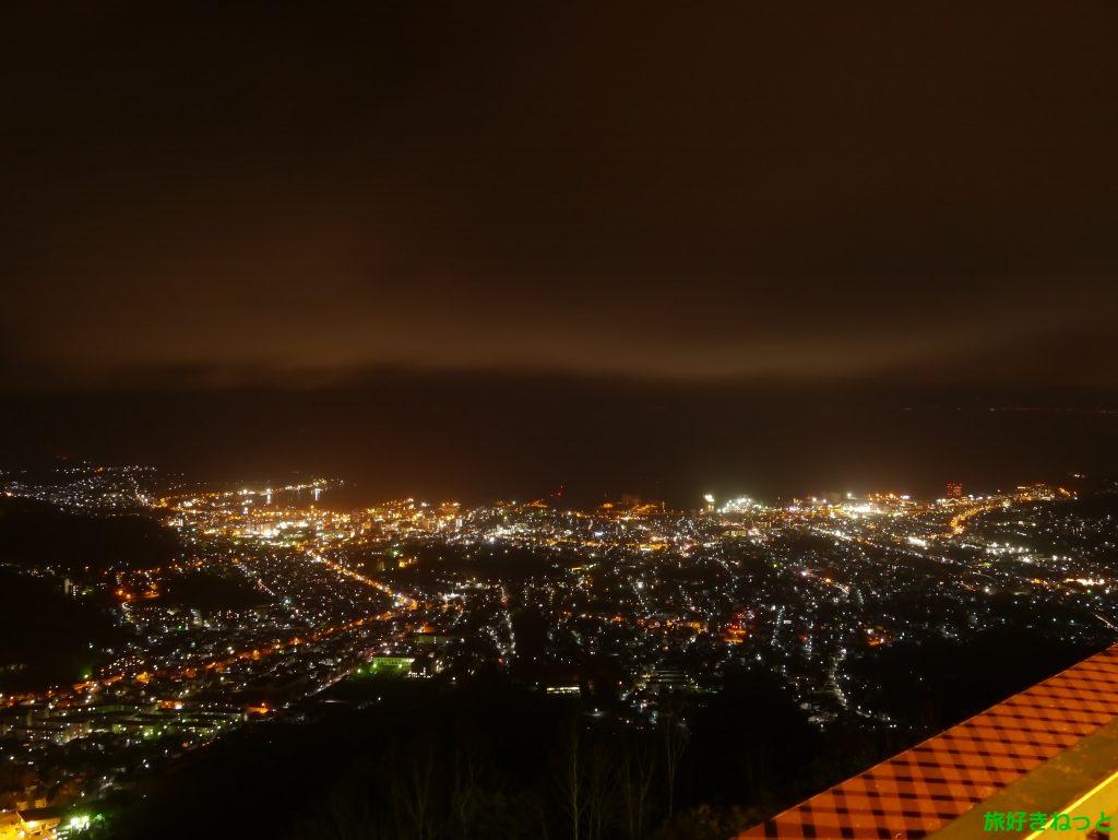 【小樽天狗山夜景の日】花火打ち上げ時間は?夜景と花火が素敵だよ!