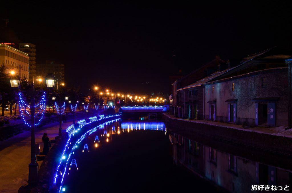 2020年小樽ゆき物語『青の運河』の写真を撮影してきた