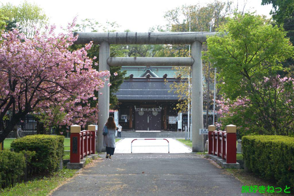 『札幌護国神社』御朱印は多賀神社も頂ける。駐車場の場所もご紹介