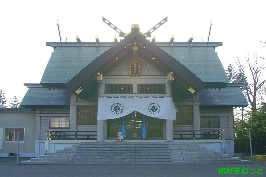 『篠路神社』札幌で一番古い神社・御朱印は宮司さんが居る時に!