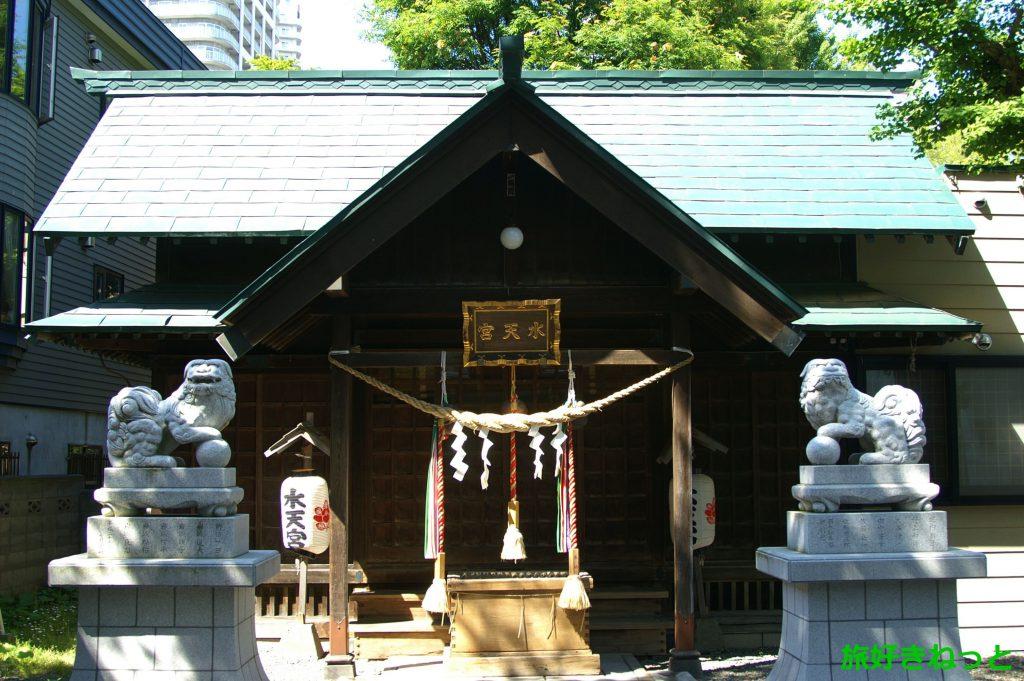 『札幌水天宮』御朱印あり・神社の場所が分かりづらいので詳しく解説