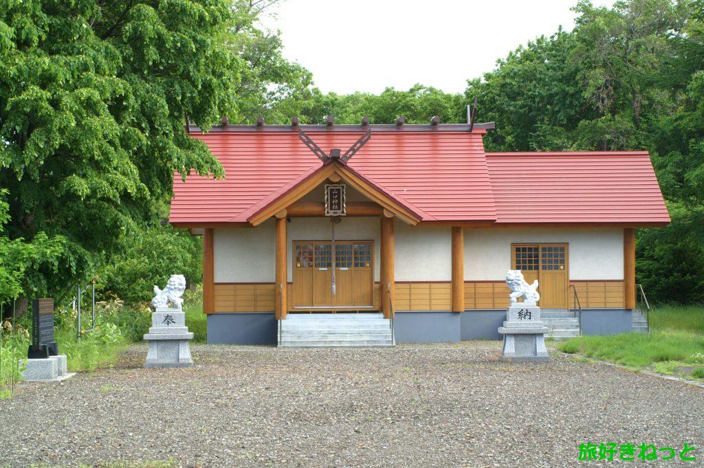 札幌『山口神社』御朱印は手稲神社で頂ける、自然に囲まれた神社