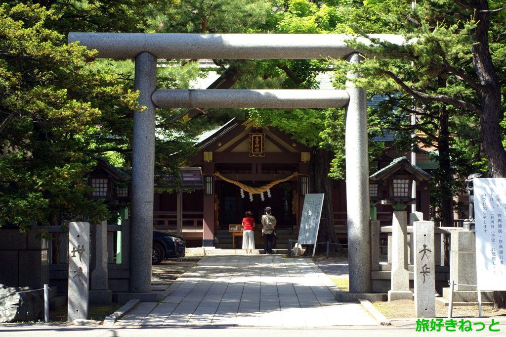 『三吉神社』御朱印あり・札幌で最初にお祭りを開催する「さんきちさん」の愛称で親しまれる神社