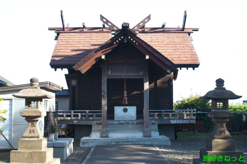 札幌『瑞穂神社』御朱印なし・1坪ほどの小祠から始まった神社