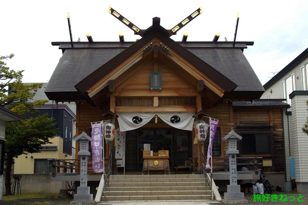 『札幌村神社』御朱印あり・開拓三神で北海道神宮と同じご利益がある神社