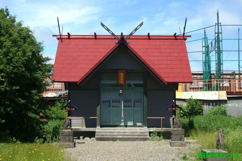 『豊畑神社』御朱印なし・お稲荷さんが鎮座する無人の小さな神社