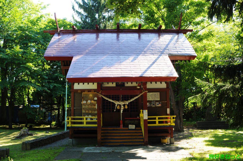 『花岡神社』御朱印なし・三吉神社と繋がりのある神社