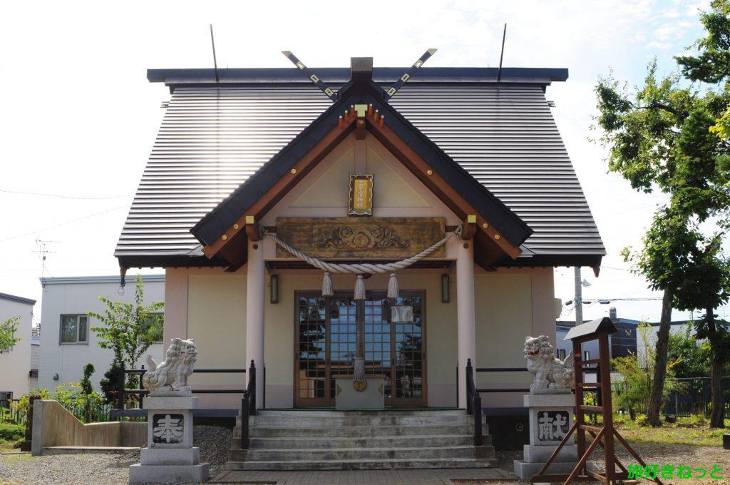 『三里塚神社』御朱印あり・豊平神社が兼務する神社