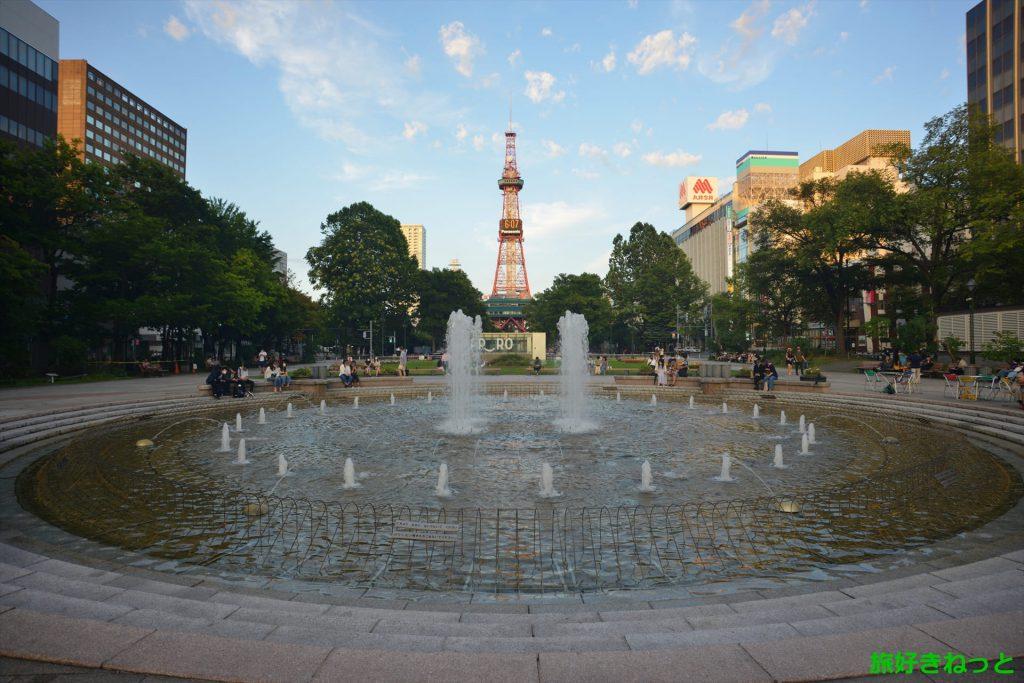 札幌駅周辺の暇つぶしに『大通公園』は道産子に人気のスポット