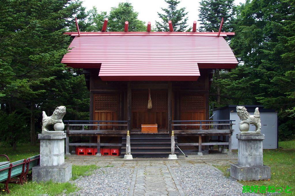 『豊滝神社』御朱印なし・神社を未来に残し顕彰された人物の石碑あり