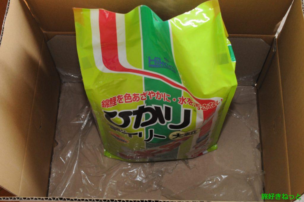 錦鯉の餌が一番安い通販はここ!【単品購入でも送料無料で買える店】