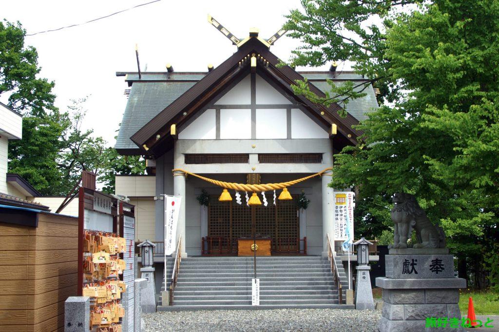 『西岡八幡宮』御朱印あり・境内に立派な石碑が祀られている神社