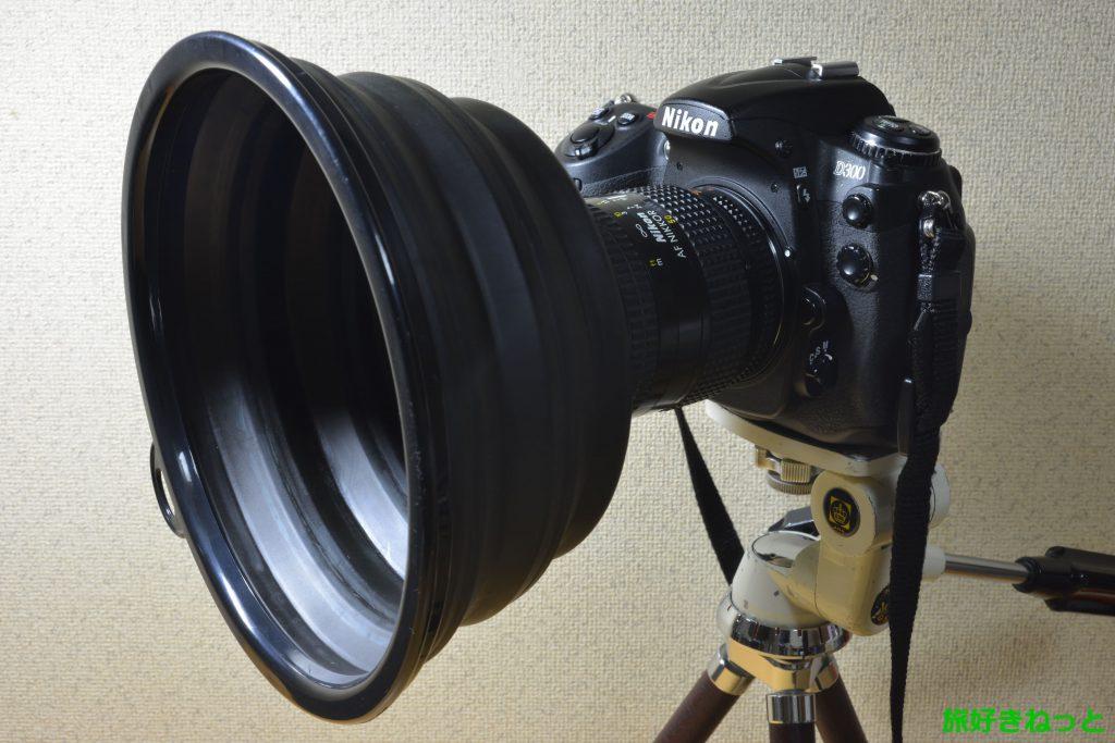 【カメラ】ガラスの映り込み防止フードを半額以下で激安購入する方法
