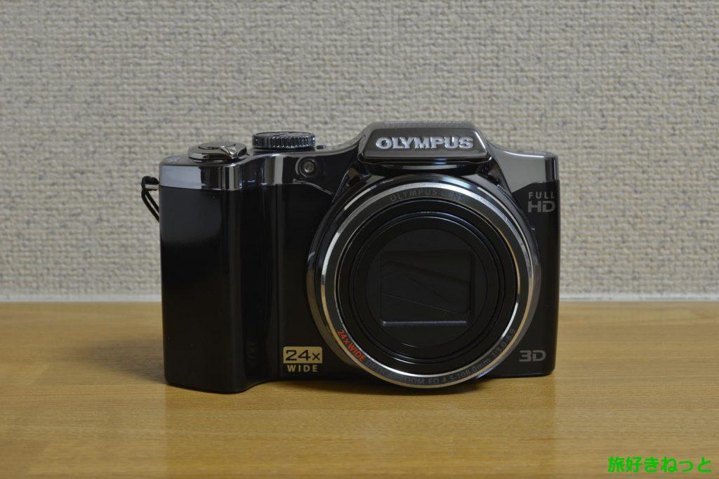 中古でオリンパスSZ-30MRを購入。昔のデジカメだけど使える