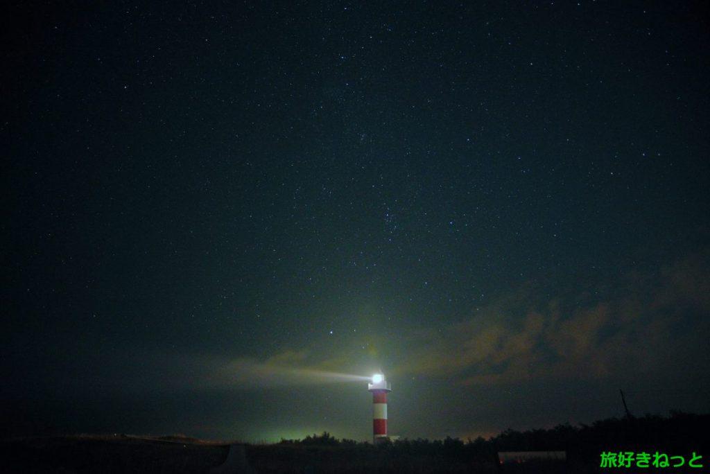 星空スポット『はまなすの丘公園』で星空を撮影しました。